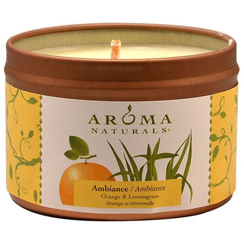 AROMA NATURALS AMBIANCE LEMON SMALL TIN