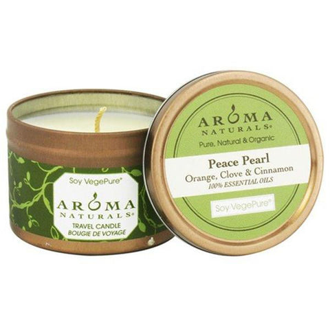 AROMA NATURALS PEACE PEARL WHITE SMALL TIN