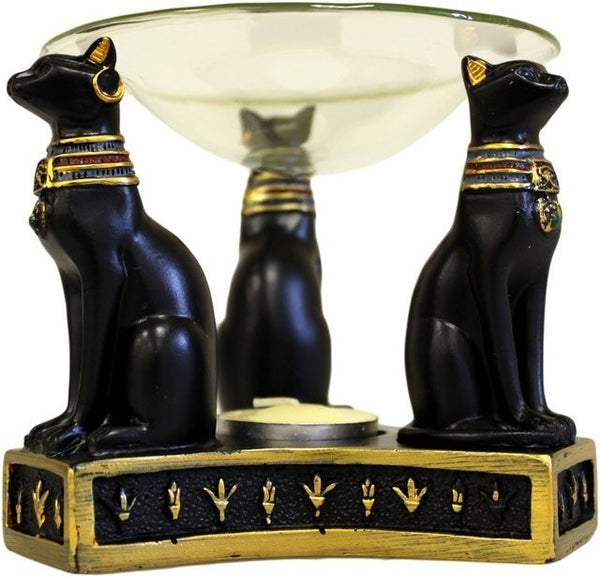 Egyptian Goddess Bastet Oil Burner - The TOI Store