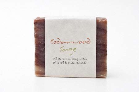 Cedarwood Sage Certified Natural Soap - The TOI Store