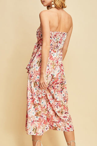 Flora Tube Jumpsuit