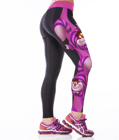 Cheshire Cat Alice in Wonderland Yoga Pants - The TOI Store