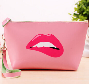 Retro Makeup Clutch