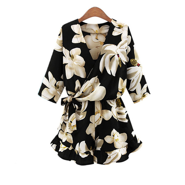 Whats Bloomin Floral Playsuit
