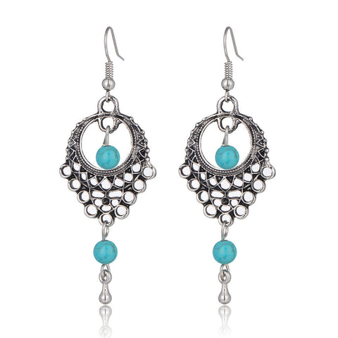 Dream Catcher Turquoise Earrings - The TOI Store