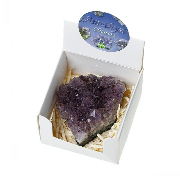 Grade A Natural Amethyst Cluster - The TOI Store