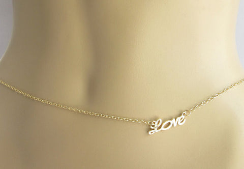 LOVE Belly Chain - The TOI Store
