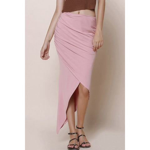 Asymmetric Skirt - The TOI Store