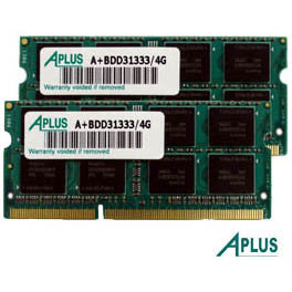 8GB kit (2x4GB) DDR3 1333 SODIMM for Apple iMac (Mid 2010,2011, Late 2011), Mac Mini (Mid 2011), MacBook Pro (2011)
