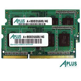 8GB kit (2x4GB) DDR3 1600 SODIMM for Apple MacBook Pro (Mid 2012), iMac (late 2012,2013,2014), Mac Mini (Late 2012)