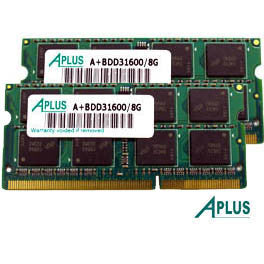 16GB kit (2x8GB) DDR3 1600 SODIMM for Apple MacBook Pro  (Mid 2012), iMac (Late 2012 / 2013 / 2014), Mac Mini (Late 2012)