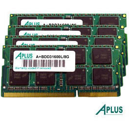 32GB kit (4x8GB) DDR3 1600 for Apple iMac (Late 2013 / 2014)