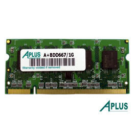 1GB DDR2 667 SODIMM for Apple iMac (2006,2007), MacBook (2007,2009), MacBook Pro (2008)