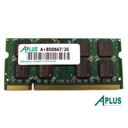 2GB DDR2 667 SODIMM for Apple iMac (2006,2007), MacBook (2007,2009), MacBook Pro (2008)