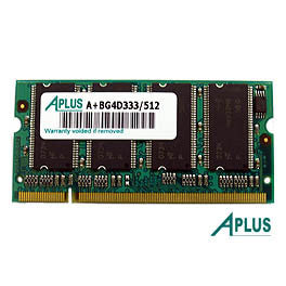 512MB DDR333 SODIMM for Apple iBOOK G4 1.33GHz / 1.42GHz , iMac G4 Flat Panel 1GHz / 1.25GHz , Power Book G4