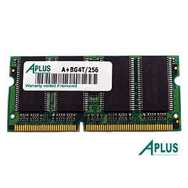 256MB SDRAM PC133 SODIMM for Apple Power Book Titanium 667 / 800 / 867 / 1000