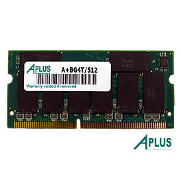 512MB SDRAM PC133 SODIMM for Apple Power Book Titanium 667 / 800 / 867 / 1000