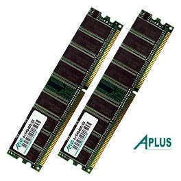 1GB kit (2x512MB) DDR400 DIMM Memory for Apple Power Mac G5 (late 2004) (early 2005)