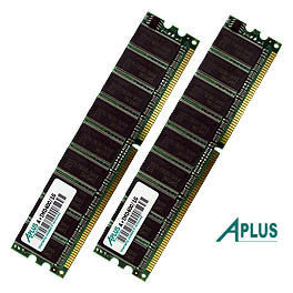 1GB kit (2x512MB) DDR400 ECC DIMM Memory for Apple Xserve G5 2GHz / Dual 2GHz / Dual 2.3GHz