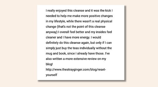 Liver Cleanse Herbs Feedback