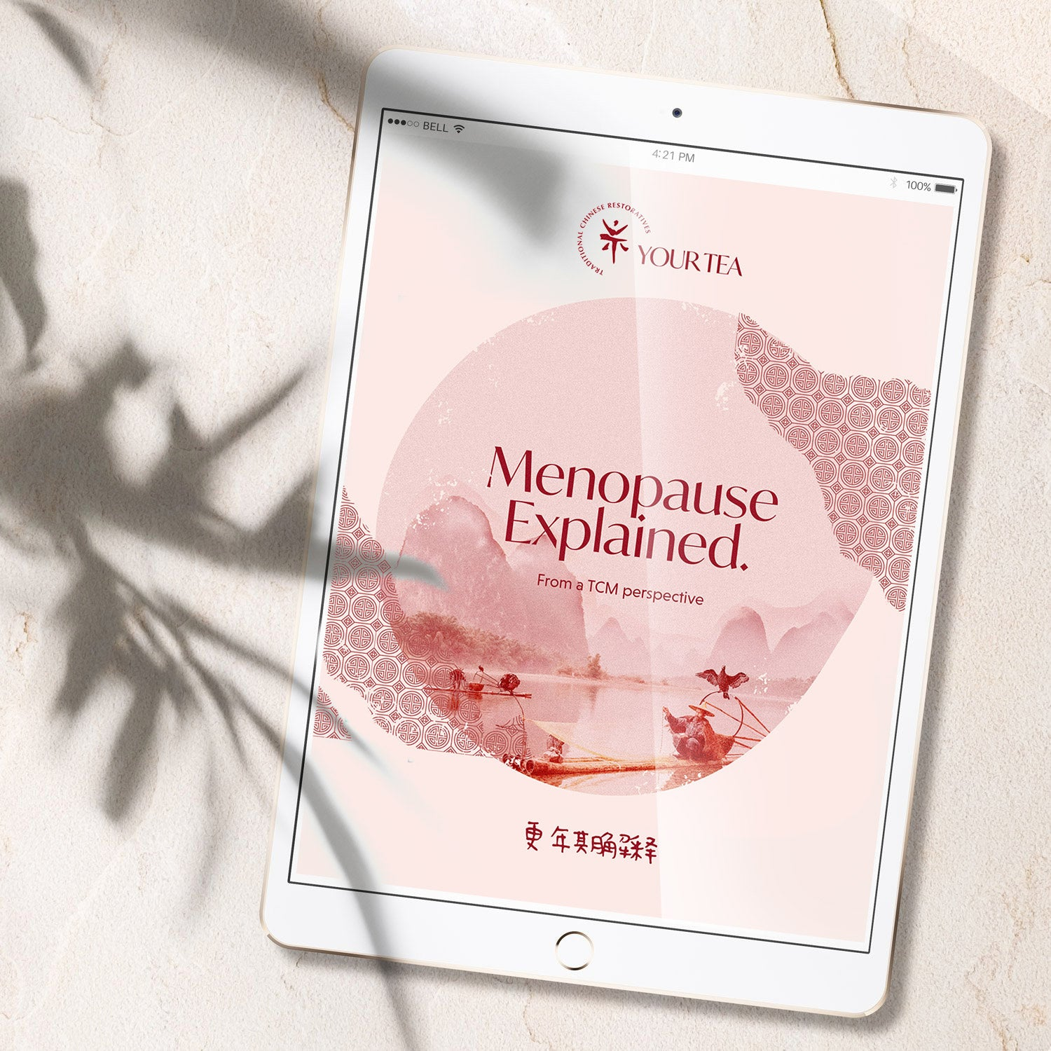 E-Book: Menopause explained from a TCM perspective.