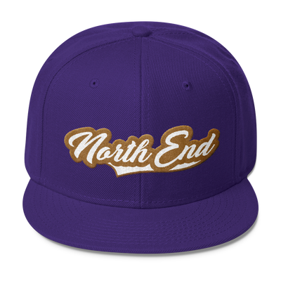 North End Script Snap-Back - Square Boy Clothing