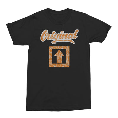 Original Orange Paisley T-SHIRT - Square Boy Clothing