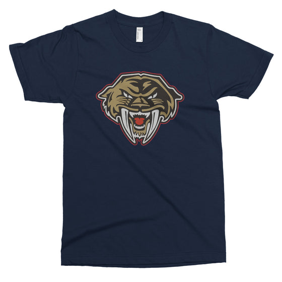 Tacoma Sabercats Navy T-Shirt - Square Boy Clothing