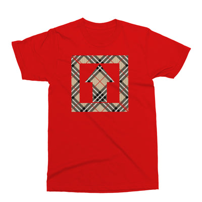 Square Up Red Plaid T Shirt - Square Boy Clothing
