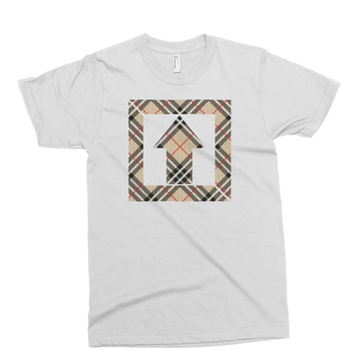 Square Up White Plaid T Shirt - Square Boy Clothing