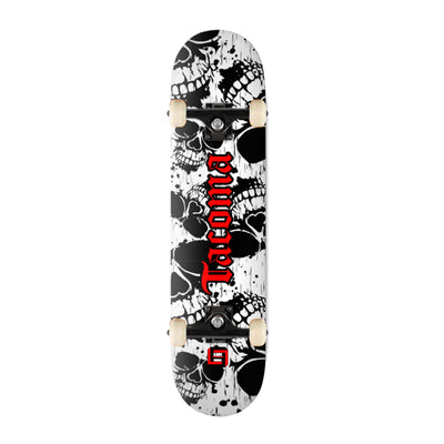 Tacoma Red Skull Skate Deck Skate Deck - Square Boy Clothing