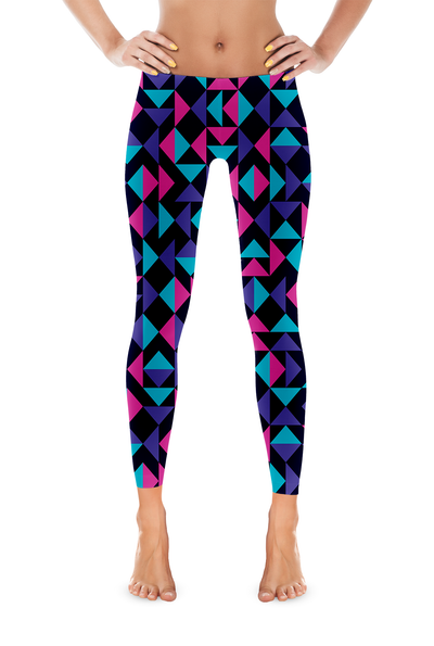 Triangles Legging - Square Boy Clothing