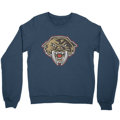 Vintage Sabrecats Navy Raglan Sweater - Square Boy Clothing