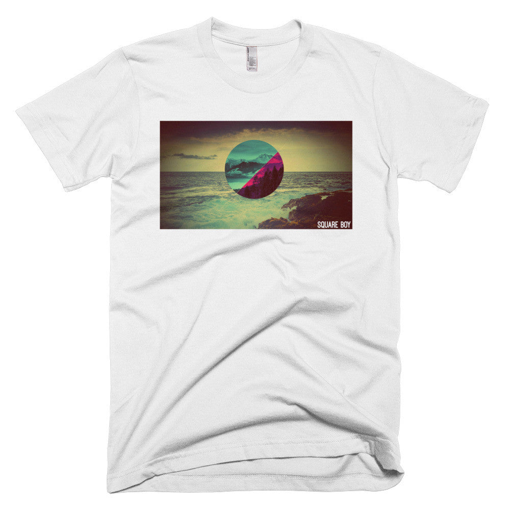 Square Nature White T-shirt - Square Boy Clothing