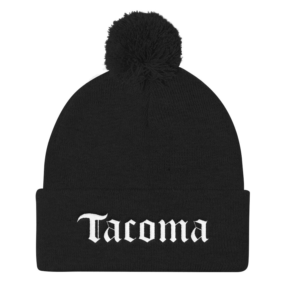Tacoma English Pom Beanie Pom Beanie - Square Boy Clothing