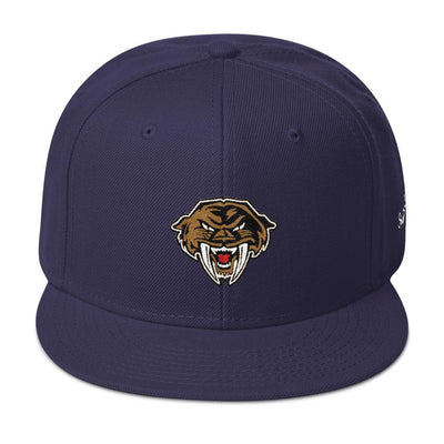 Sabercats Snapback Hat Snap-Back - Square Boy Clothing