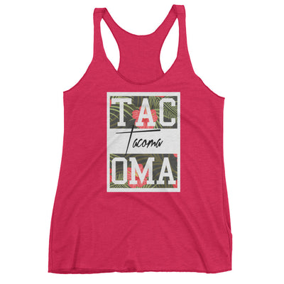 Tacoma Flowers Tank - Square Boy Clothing