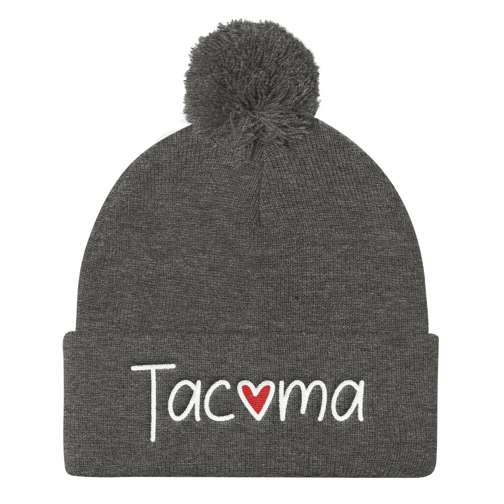 Tacoma Love Pom Beanie Pom Beanie - Square Boy Clothing