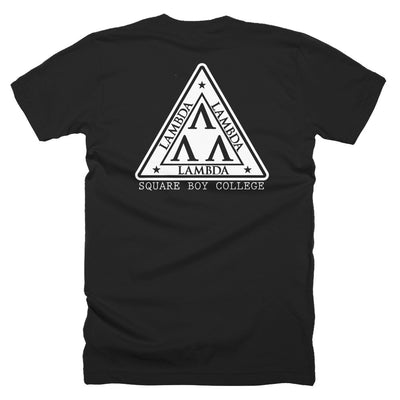 Lambda Tee T-SHIRT - Square Boy Clothing