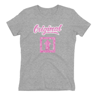 Original Pink Paisley T-SHIRT - Square Boy Clothing