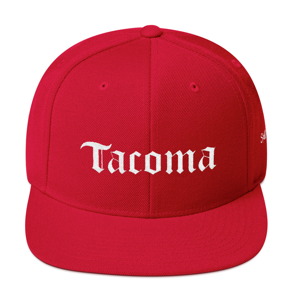 Tacoma English Snapback Hat