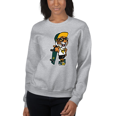 T Town Tiger Sweatshirt  - Square Boy Clothing
