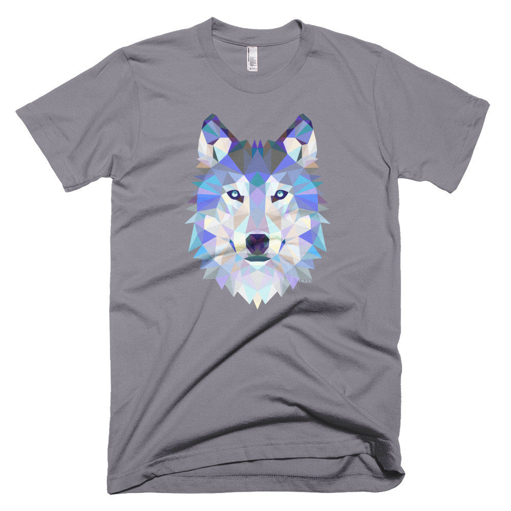 Ogee Wolf Grey Men's T-Shirt - Square Boy Clothing