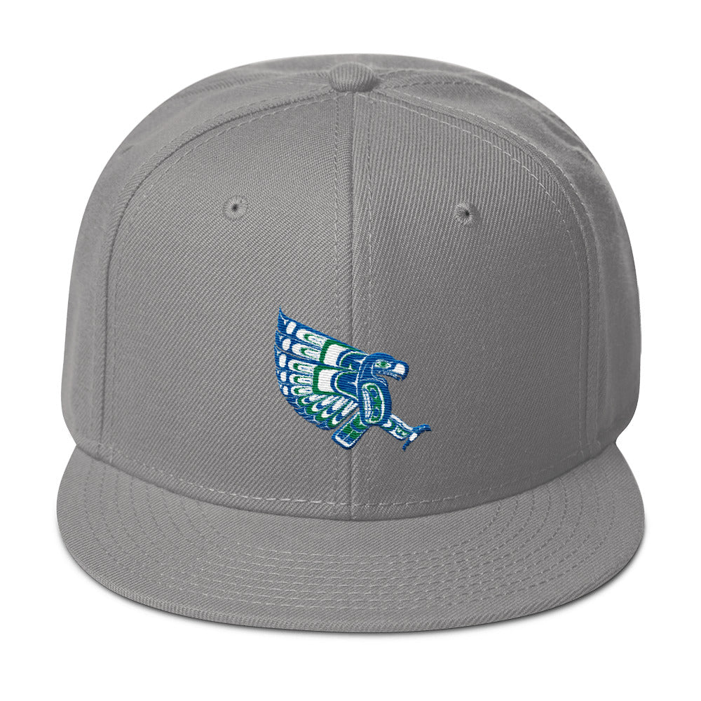 Hawks Totem Snap Back Snap-Back - Square Boy Clothing
