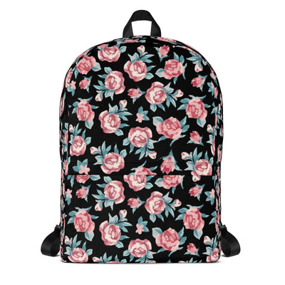 Roses Backpack Backpack - Square Boy Clothing