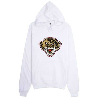 Tacoma Sabrecats  Unisex White Hoodie - Square Boy Clothing