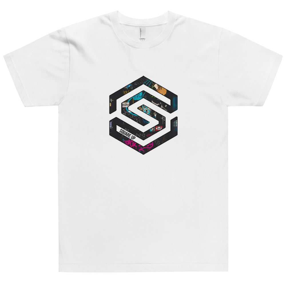 Squared Logo Graffiti Tee T-SHIRT - Square Boy Clothing