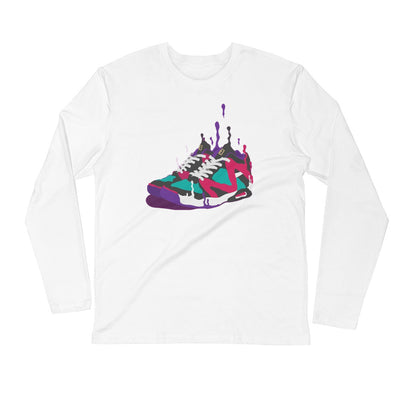 Square Up Drip Long Sleeve T Shirt - Square Boy Clothing