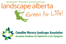 Nursery Association Landscape Alberta Logo and Canadian Nursery Landscape Association