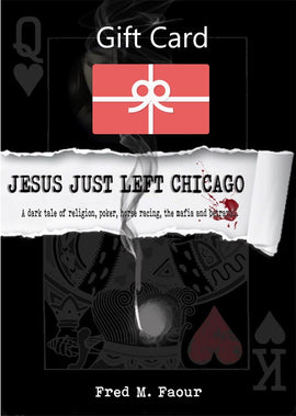 Jesus Just Left Chicago Gift Card